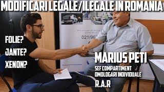 ADEVARUL DESPRE MODIFICARI LEGALE/ILEGALE IN ROMANIA   JANTE,FOLII,XENON ,EVACUARI   Tehnic Ep.7