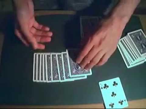 Giochi di prestigio spiegati la carta rivelatrice