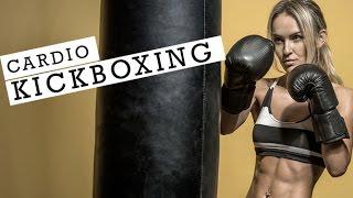 20 Minute Cardio Kickboxing Workout (MASCARA WILL BE RUNNING!!)