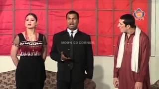 Zafri Khan King of Stage Drama on fire!! Zafri Khan King of Pakisrani Stage Drama