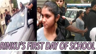 EXCLUSIVE Pics | Sairat Fame Rinku Rajguru Comes In Mercedes First Day Of School