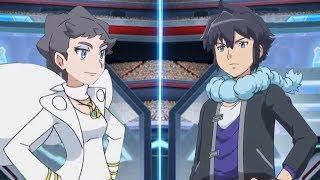 Pokemon Battle USUM: Diantha Vs Alain (Pokémon Champion Face Off!)