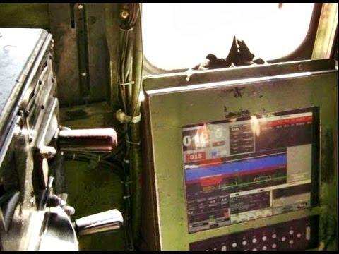 Carona dentro do trem da ALL Na cabine da G22U em Curitiba Parana