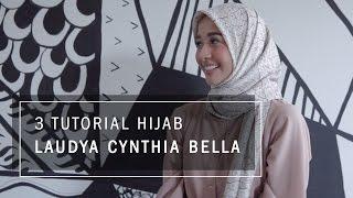 3 Tutorial Hijab Laudya Cynthia Bella