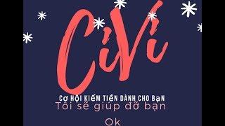 Kiếm tiền online với CIVI