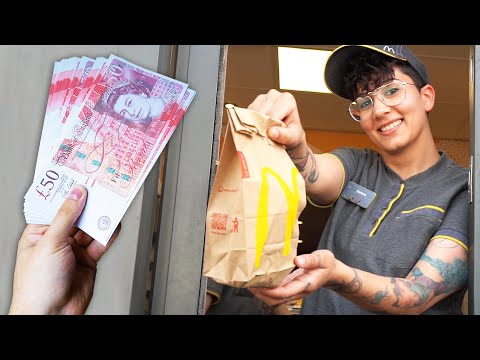 Tipping McDonald s Workers £1000 For The Best Cheeseburger