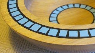 Woodturning a Milliput Mosaic Bowl