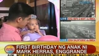 UB: 1st birthday ng anak ni Mark Herras, enggrande