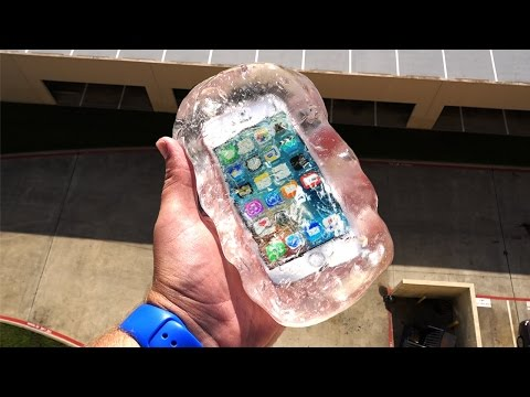 Can Liquid Glass Putty Protect iPhone SE From 100 FT Drop Test GizmoSlip
