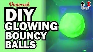 DIY Glowing Bouncy Balls - Kid Vs Pin - Pinterest Project #49