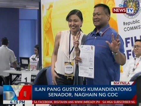Xxx Mp4 BP Ilang Pang Gustong Kumandidatong Senador Naghain Ng COC 3gp Sex