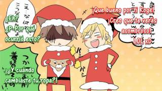 Merry Christmas! 【96Neko, Kogeinu, Vip-Tenchou】【Sub Español】Jingle Bell