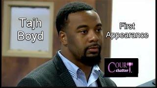 Tajh Boyd First Appearance 09/21/16