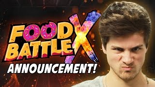 FOOD BATTLE X ANNOUNCEMENT