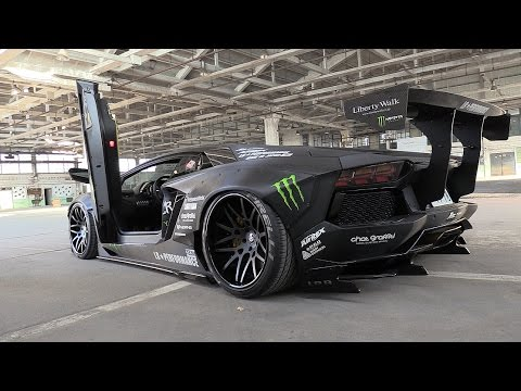 Xxx Mp4 Liberty Walk Lamborghini Aventador W Fi Exhaust Start Revs Amp Fly By 39 S 3gp Sex
