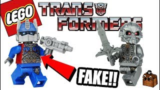 Transformers LEGO Knockoff Minifigures 2017