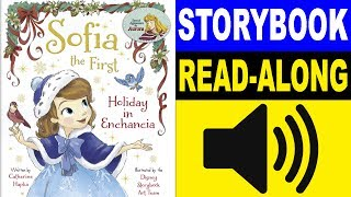 Sofia the First Read Along Story book | Holiday in Enchancia | Read Aloud Story Books for Kids