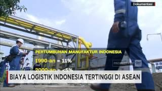 Biaya Logistik Indonesia Tertinggi di ASEAN