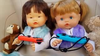 Ani y Ona de viaje con sus peluches y maletas favoritos Juguetes y Muñecas Nenuco