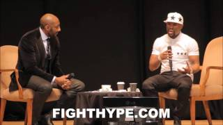 FLOYD MAYWEATHER DISCUSSES EPIC CLASH WITH RICKY HATTON; HAS HIGH PRAISE FOR HIS