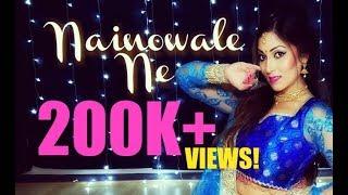 NEW! Nainowale Ne | Padmaavat | Neeti Mohan | Bollywood Dance Choreography | Meenakshi