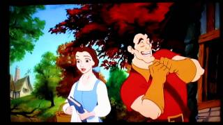 Beauty and the Beast: Belle and Gaston street scene