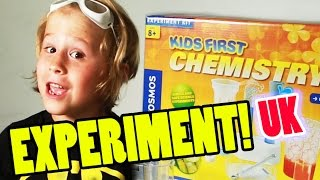 Science Fair Projects: Kids First Chemistry Set Kit - Thames & Kosmos  | Beau
