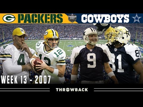 Crucial Clash for 1st Place in NFC Packers vs. Cowboys 2007 Week 13