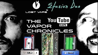 Lost Vape Efusion Duo DNA 133 / 200 Review On TVC