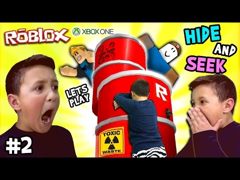 Let s Play ROBLOX 2 Hide and Seek Extreme w Mike FGTEEV Xbox One Gameplay Skit