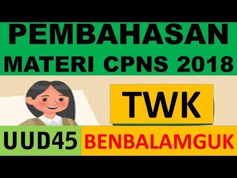 Xxx Mp4 Pembahasan Materi TWK CPNS 2018 UUD 1945 BENBALAMGUK 3gp Sex
