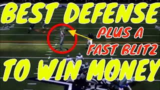 MADDEN 19 BEST DEFENSE FOR MONEY GAMES. PLUS A FAST BLITZ AGAINST A BLOCKED RB.