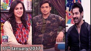 Salam Zindagi - Guest:  Maham Amir & Sohail Sameer - 11th January 2017