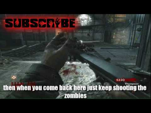 Call Of Duty 5 WaW Der Riese Nazi Zombies How to get to Level 100 100 Works Tutorial