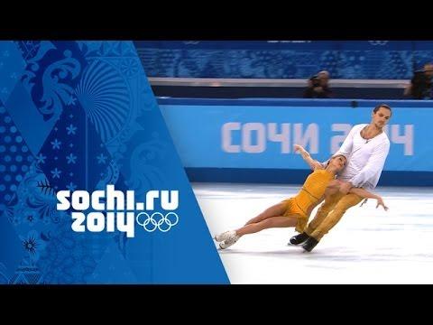 Tatiana Volosozhar & Maxim Trankov Win Gold Full Free Program Sochi 2014 Winter Olympics
