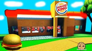 My Own Burger King Fast Food Restaurant ! Roblox Tycoon Game PlayVideo