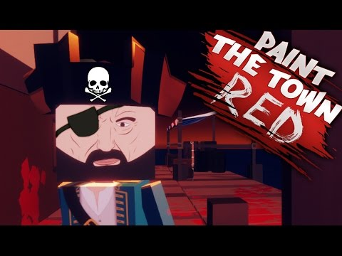 Gaming Style  Paint The Twon Red