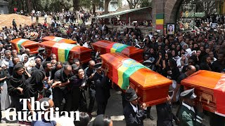 Mass funeral service held for Ethiopian crash victims