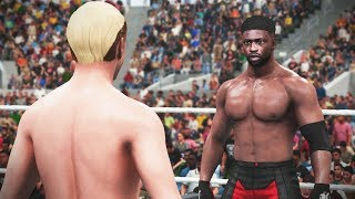 Can A 30 OVERALL James Ellsworth BEAT Brandon Collins?! (WWE 2K18 Challenge)