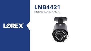 Unboxing of 2K HD outdoor ip camera model LNB4421