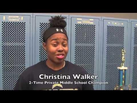 Christina Walker Best 14 Year Old Middle School Girls Basketball Player (short version)