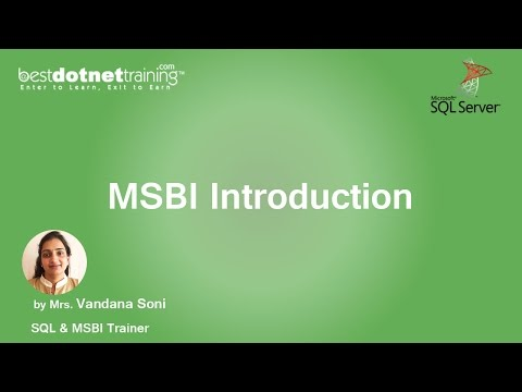 MSBI Tutorial for Beginners - MSBI Introduction
