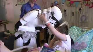 Disney Stars Join in the Fun to Celebrate #StarWarsDay at Children's Hospital Los Angeles