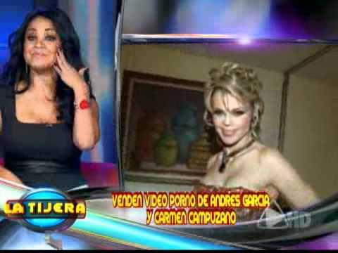 Carmen Campuzano y Andrés García en video porno