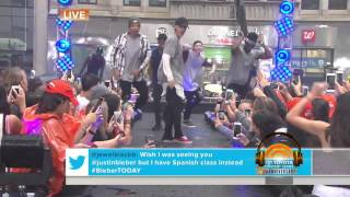 Justin bieber-where are you now live at today's