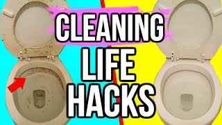 10 GENIUS Cleaning Life Hacks You Need To Know!