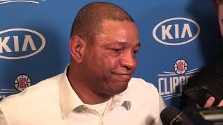 Los Angeles Clippers coach Doc Rivers reflects on the passing of Kobe Bryant