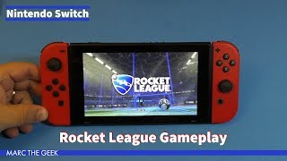 Nintendo Switch: Rocket League Gameplay