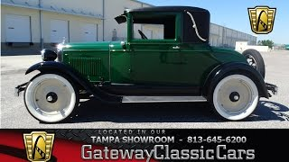 866 TPA 1928 Chevrolet Coupe 171 CID 4 cylinder 3 Speed Manual