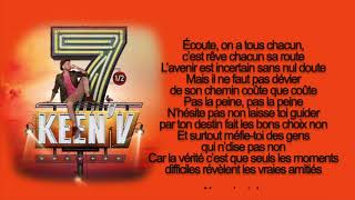 keen'v - qu'une seule chance (video lyrics officielle)